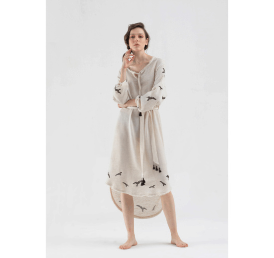 Fulmarix Linen Dress