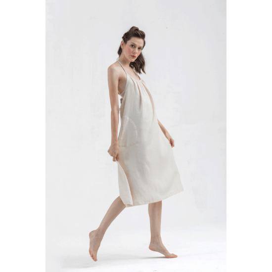 Fulmarix Linen Dress
