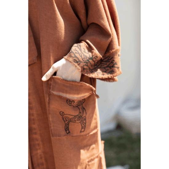 Fulmarix Linen Kimono