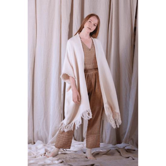 Fulmarix Organic Cotton Poncho