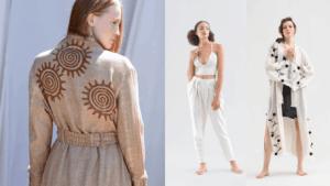 Fulmarix - Ikikiz Mode Handmade Lienen KleidungKlei